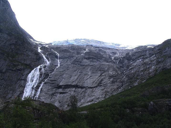 Foto: Andreas Koller / Wander Tour / Gletschererlebnis Briksdalsbreen (150 m) / 04.08.2009 19:18:17