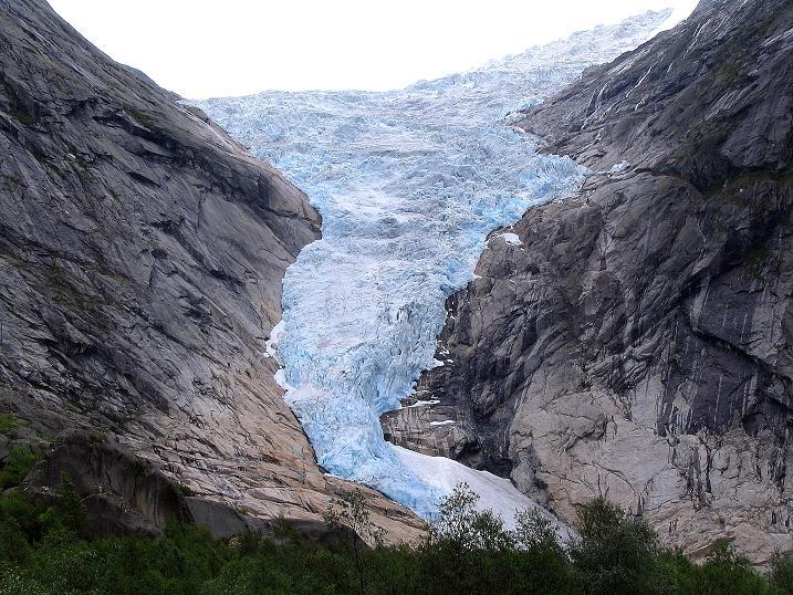 Foto: Andreas Koller / Wander Tour / Gletschererlebnis Briksdalsbreen (150 m) / 04.08.2009 19:17:13