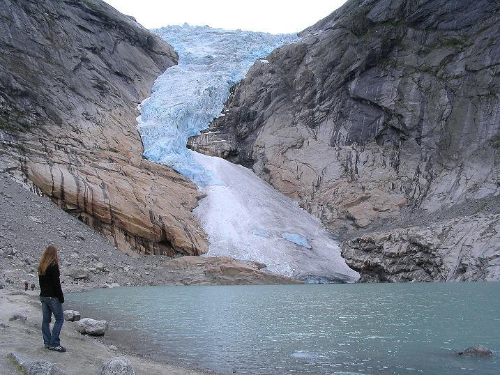 Foto: Andreas Koller / Wander Tour / Gletschererlebnis Briksdalsbreen (150 m) / 04.08.2009 19:16:41