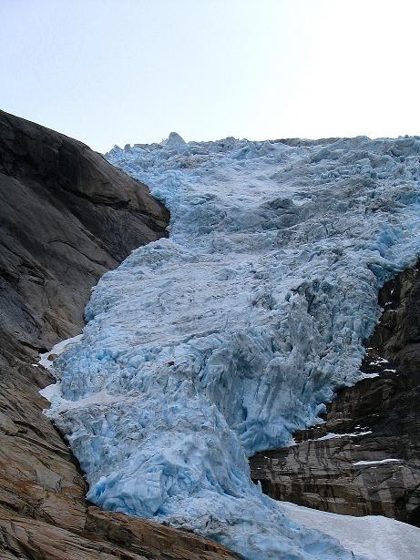 Foto: Andreas Koller / Wander Tour / Gletschererlebnis Briksdalsbreen (150 m) / 04.08.2009 19:16:31