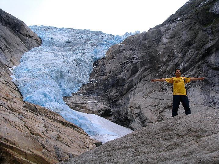 Foto: Andreas Koller / Wander Tour / Gletschererlebnis Briksdalsbreen (150 m) / 04.08.2009 19:16:22
