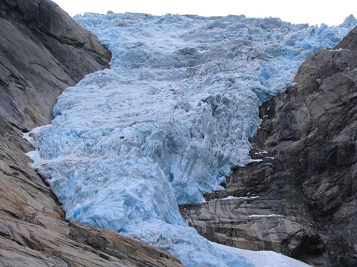 Foto: Andreas Koller / Wander Tour / Gletschererlebnis Briksdalsbreen (150 m) / Briksdalsbreen / 04.08.2009 19:16:03