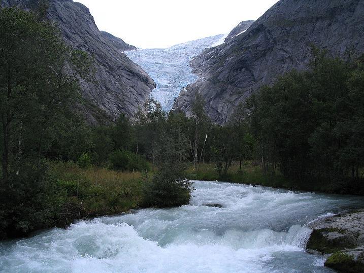 Foto: Andreas Koller / Wander Tour / Gletschererlebnis Briksdalsbreen (150 m) / 04.08.2009 19:14:25