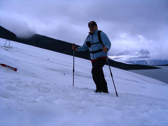 Foto: Andreas Koller / Wander Tour / Auf die Kuppen des Galdhoe (2283 m) / 04.08.2009 00:37:59