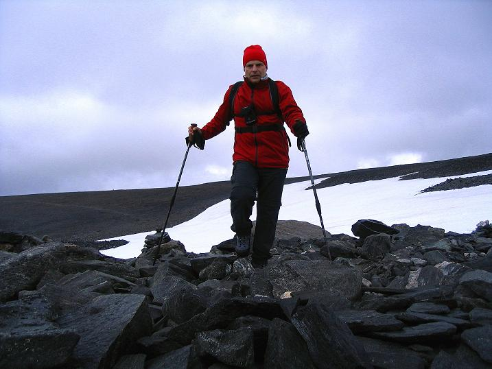 Foto: Andreas Koller / Wander Tour / Auf die Kuppen des Galdhoe (2283 m) / 04.08.2009 00:37:54