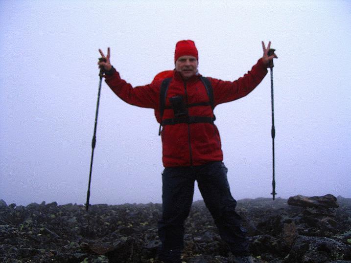 Foto: Andreas Koller / Wander Tour / Auf die Kuppen des Galdhoe (2283 m) / Am höheren Südgipfel / 04.08.2009 00:36:23