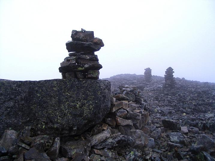 Foto: Andreas Koller / Wander Tour / Auf die Kuppen des Galdhoe (2283 m) / 04.08.2009 00:35:49