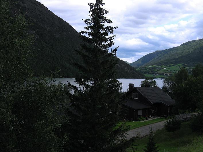 Foto: Andreas Koller / Klettersteig Tour / Klettersteig Lomseggen (1524m) / Start in Nissegarden bei Lom / 05.08.2009 17:05:19