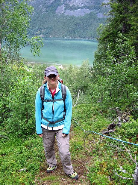 Foto: Andreas Koller / Klettersteig Tour / Klettersteig Lomseggen (1524m) / 05.08.2009 17:04:39