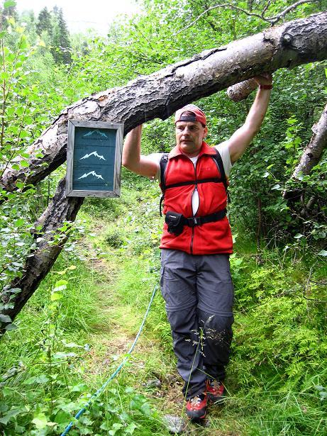 Foto: Andreas Koller / Klettersteig Tour / Klettersteig Lomseggen (1524m) / 05.08.2009 17:04:15