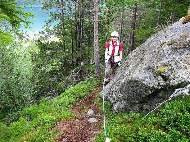 Foto: Andreas Koller / Klettersteig Tour / Klettersteig Lomseggen (1524m) / 05.08.2009 17:02:53