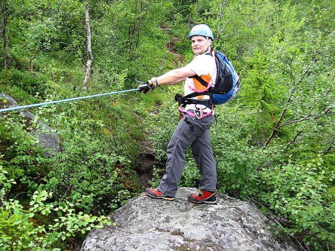 Foto: Andreas Koller / Klettersteig Tour / Klettersteig Lomseggen (1524m) / 05.08.2009 17:02:40