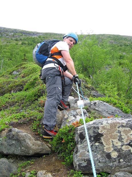 Foto: Andreas Koller / Klettersteig Tour / Klettersteig Lomseggen (1524m) / 05.08.2009 17:01:04
