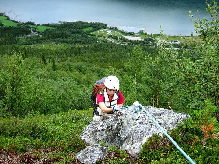 Foto: Andreas Koller / Klettersteig Tour / Klettersteig Lomseggen (1524m) / 05.08.2009 17:00:32