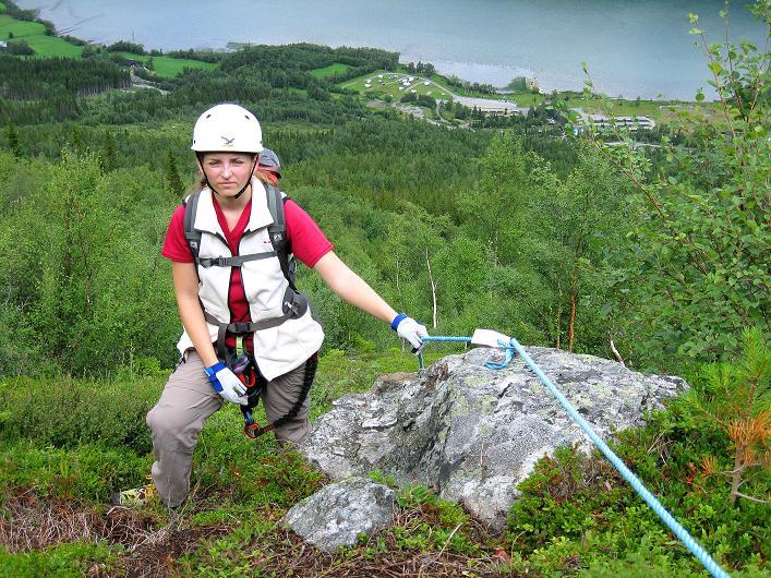 Foto: Andreas Koller / Klettersteig Tour / Klettersteig Lomseggen (1524m) / 05.08.2009 17:00:24