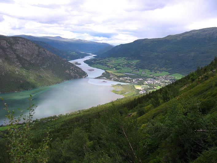 Foto: Andreas Koller / Klettersteig Tour / Klettersteig Lomseggen (1524m) / 05.08.2009 16:59:41