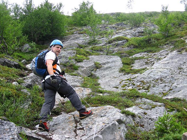 Foto: Andreas Koller / Klettersteig Tour / Klettersteig Lomseggen (1524m) / 05.08.2009 16:57:59