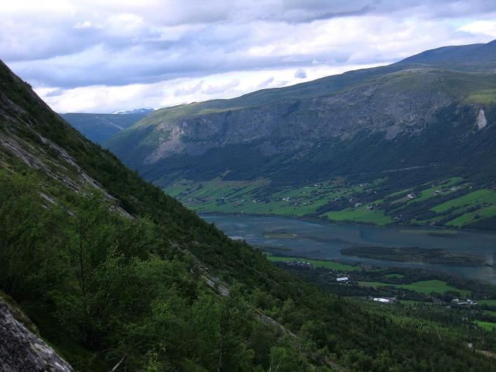Foto: Andreas Koller / Klettersteig Tour / Klettersteig Lomseggen (1524m) / 05.08.2009 16:56:58