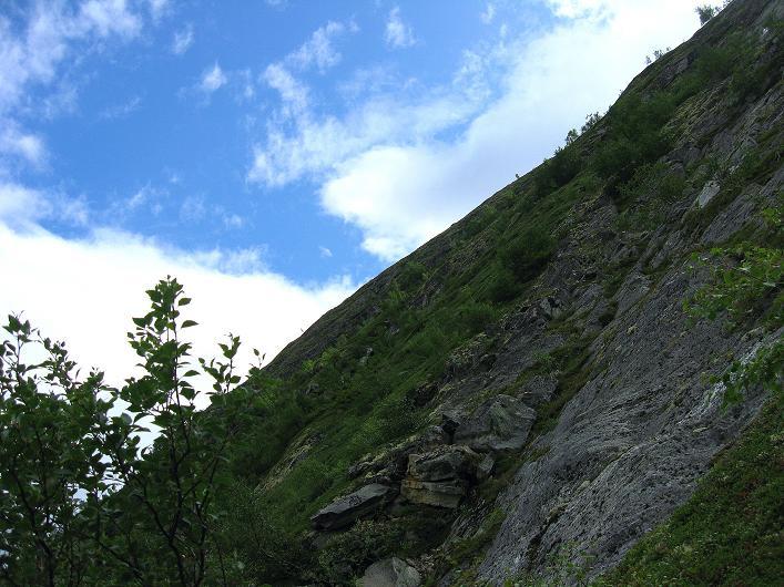 Foto: Andreas Koller / Klettersteig Tour / Klettersteig Lomseggen (1524m) / 05.08.2009 16:56:32