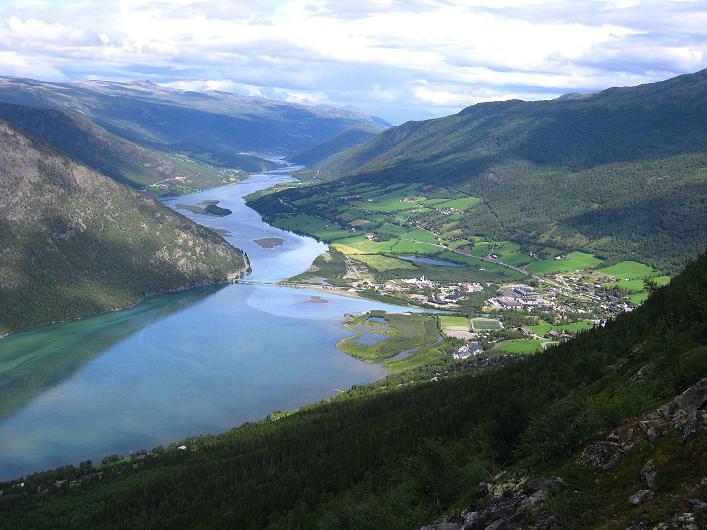 Foto: Andreas Koller / Klettersteig Tour / Klettersteig Lomseggen (1524m) / 05.08.2009 16:55:58
