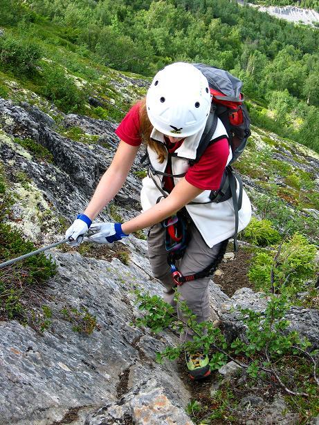 Foto: Andreas Koller / Klettersteig Tour / Klettersteig Lomseggen (1524m) / 05.08.2009 16:55:11