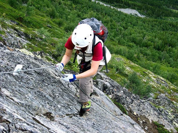 Foto: Andreas Koller / Klettersteig Tour / Klettersteig Lomseggen (1524m) / 05.08.2009 16:54:29