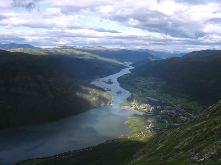 Foto: Andreas Koller / Klettersteig Tour / Klettersteig Lomseggen (1524m) / 05.08.2009 16:52:11