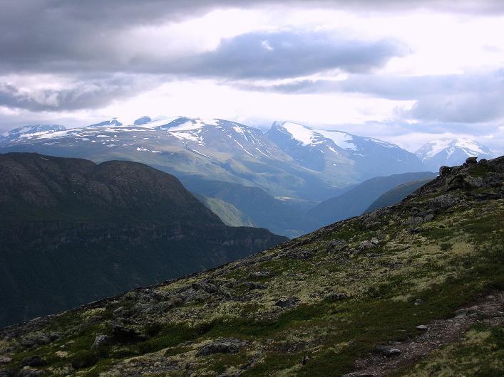 Foto: Andreas Koller / Klettersteig Tour / Klettersteig Lomseggen (1524m) / Jotunheimen Nationalpark / 05.08.2009 16:51:34