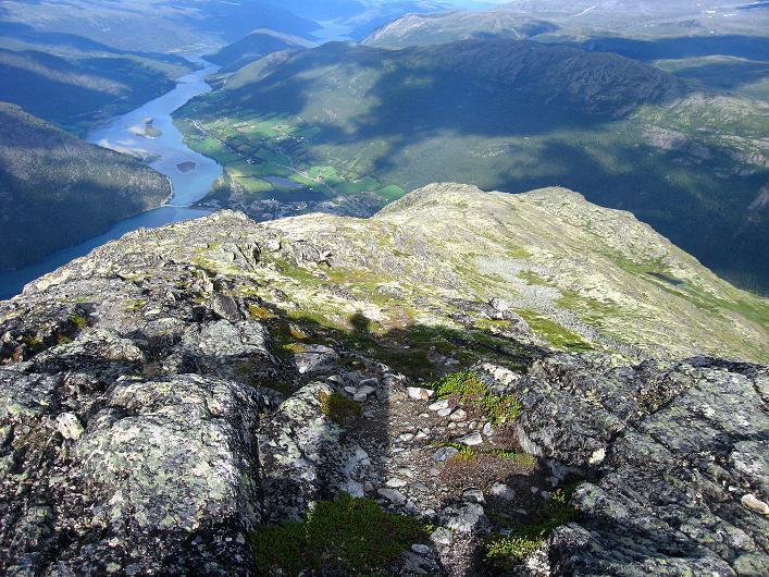 Foto: Andreas Koller / Klettersteig Tour / Klettersteig Lomseggen (1524m) / Der O-Grat zum Eggjapiken / 05.08.2009 16:50:16