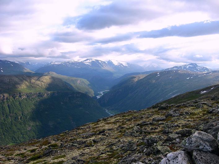 Foto: Andreas Koller / Klettersteig Tour / Klettersteig Lomseggen (1524m) / Jotunheimen / 05.08.2009 16:48:54