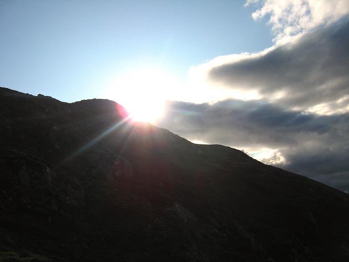 Foto: Andreas Koller / Klettersteig Tour / Klettersteig Lomseggen (1524m) / 05.08.2009 16:46:45