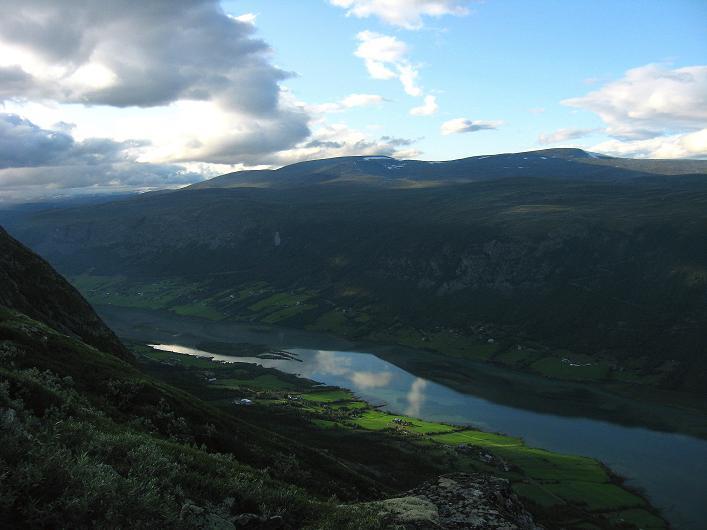 Foto: Andreas Koller / Klettersteig Tour / Klettersteig Lomseggen (1524m) / 05.08.2009 16:46:24