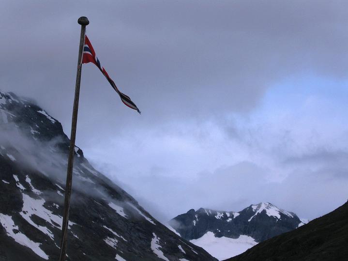 Foto: Andreas Koller / Wander Tour / Von Spiterstulen auf den Glittertind (2465 m) / Start in Spiterstulen im Visdalen / 05.08.2009 19:04:33