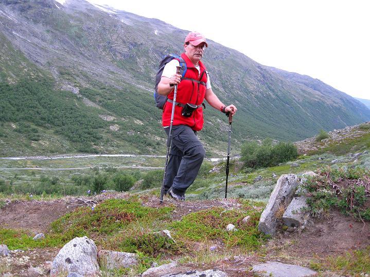 Foto: Andreas Koller / Wander Tour / Von Spiterstulen auf den Glittertind (2465 m) / 05.08.2009 19:03:39