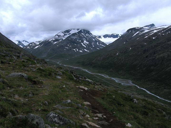 Foto: Andreas Koller / Wander Tour / Von Spiterstulen auf den Glittertind (2465 m) / 05.08.2009 19:03:14