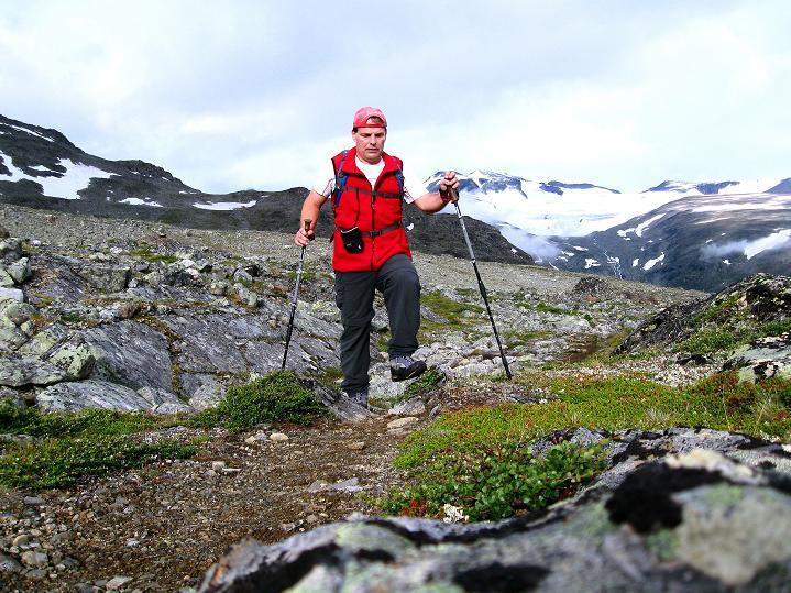 Foto: Andreas Koller / Wander Tour / Von Spiterstulen auf den Glittertind (2465 m) / 05.08.2009 19:00:03