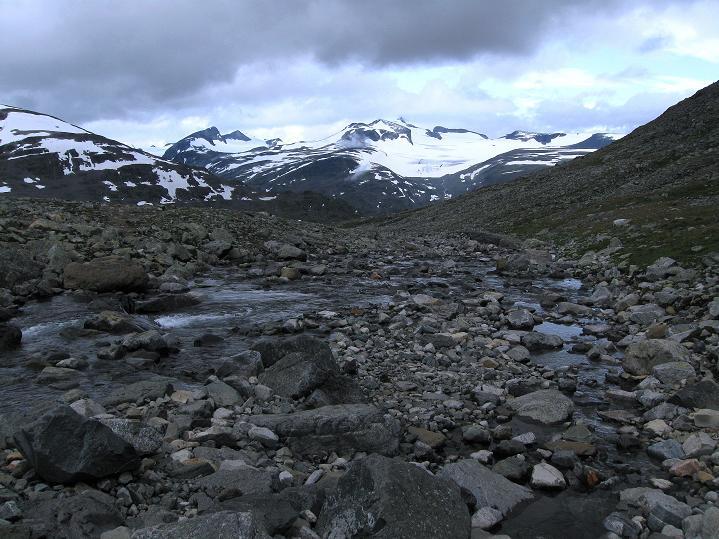 Foto: Andreas Koller / Wander Tour / Von Spiterstulen auf den Glittertind (2465 m) / 05.08.2009 18:58:53