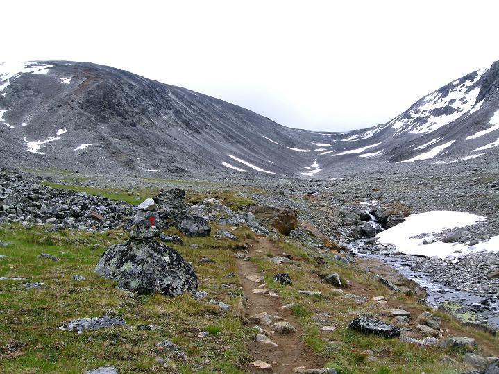 Foto: Andreas Koller / Wander Tour / Von Spiterstulen auf den Glittertind (2465 m) / 05.08.2009 18:58:35