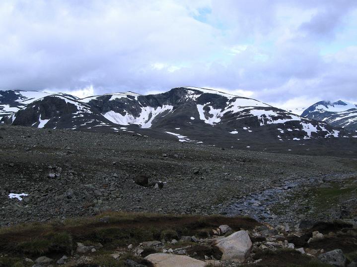 Foto: Andreas Koller / Wander Tour / Von Spiterstulen auf den Glittertind (2465 m) / 05.08.2009 18:58:27