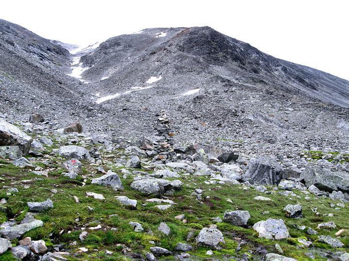 Foto: Andreas Koller / Wander Tour / Von Spiterstulen auf den Glittertind (2465 m) / Der blockige W-Sporn / 05.08.2009 18:58:11