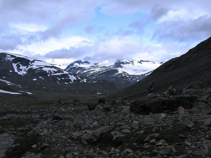 Foto: Andreas Koller / Wander Tour / Von Spiterstulen auf den Glittertind (2465 m) / 05.08.2009 18:57:49