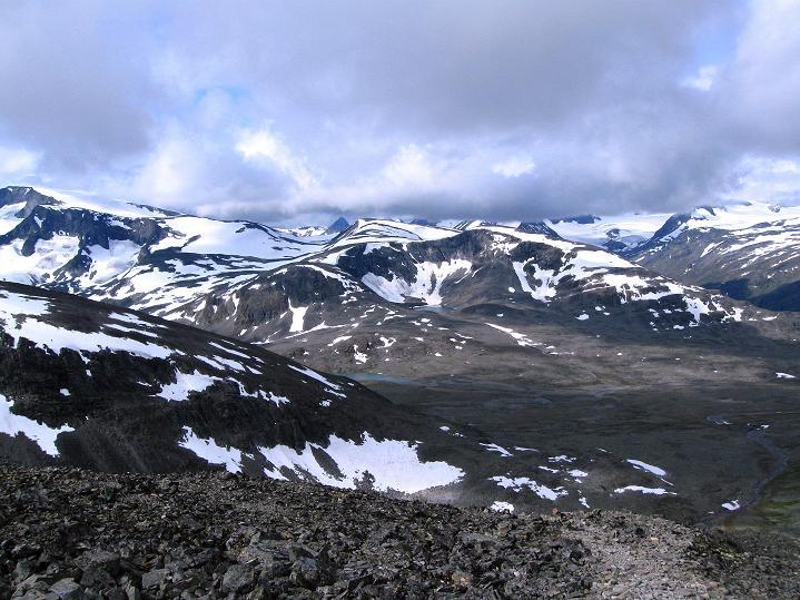 Foto: Andreas Koller / Wander Tour / Von Spiterstulen auf den Glittertind (2465 m) / 05.08.2009 18:55:46
