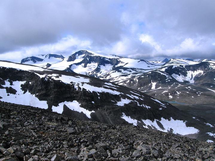 Foto: Andreas Koller / Wander Tour / Von Spiterstulen auf den Glittertind (2465 m) / 05.08.2009 18:55:38