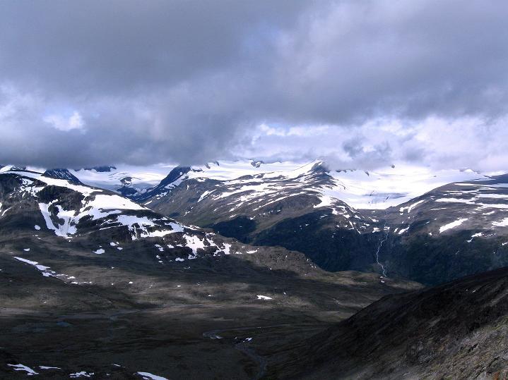 Foto: Andreas Koller / Wander Tour / Von Spiterstulen auf den Glittertind (2465 m) / 05.08.2009 18:55:29