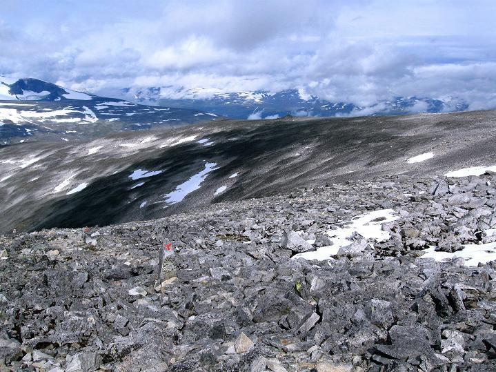 Foto: Andreas Koller / Wander Tour / Von Spiterstulen auf den Glittertind (2465 m) / 05.08.2009 18:55:11