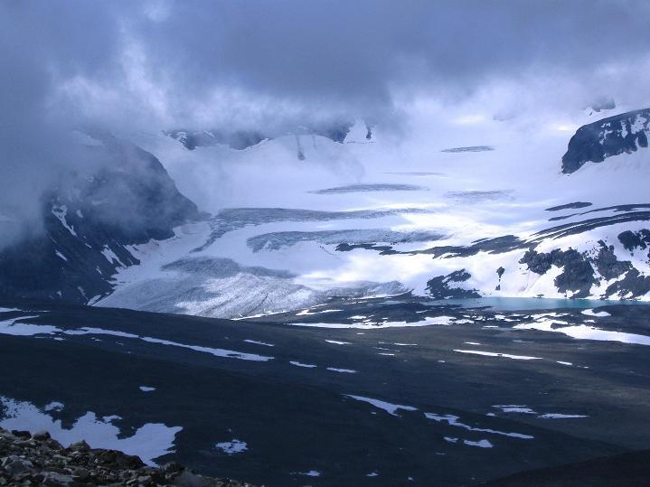 Foto: Andreas Koller / Wander Tour / Von Spiterstulen auf den Glittertind (2465 m) / 05.08.2009 18:53:47
