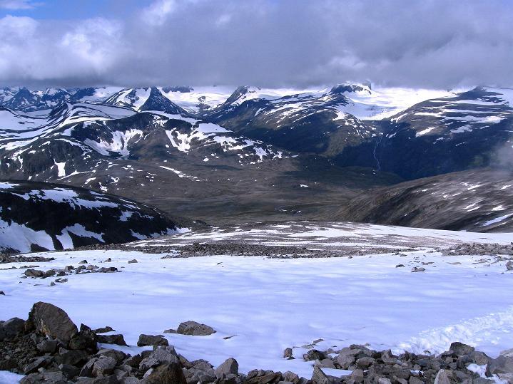 Foto: Andreas Koller / Wander Tour / Von Spiterstulen auf den Glittertind (2465 m) / 05.08.2009 18:53:38