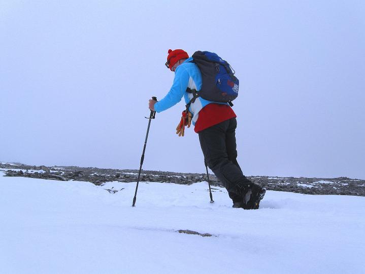 Foto: Andreas Koller / Wander Tour / Von Spiterstulen auf den Glittertind (2465 m) / Mühsame letzte Höhenmeter / 05.08.2009 18:53:29