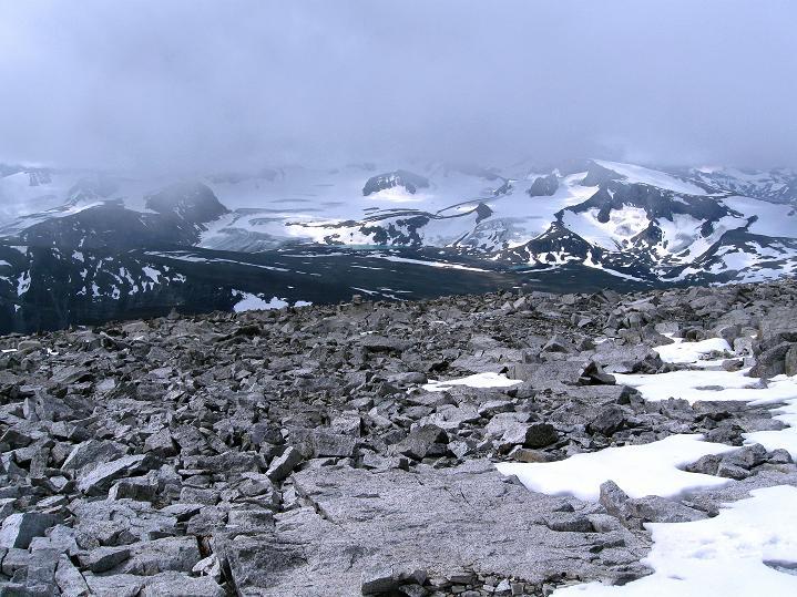 Foto: Andreas Koller / Wander Tour / Von Spiterstulen auf den Glittertind (2465 m) / 05.08.2009 18:52:07