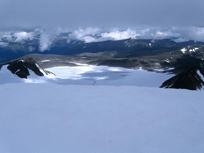 Foto: Andreas Koller / Wander Tour / Von Spiterstulen auf den Glittertind (2465 m) / 05.08.2009 18:50:07